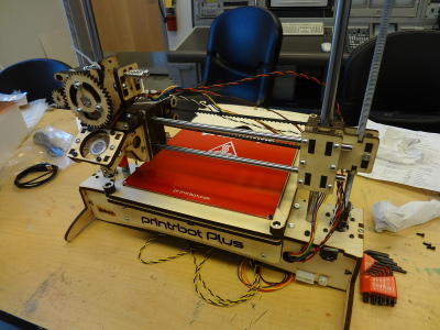 Printrbot Plus kit build